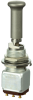 MICRO SWITCH TW Series Toggle Switch, 2 pole, 3 position, Solder terminal, Locking Lever, Military Part Number MS27754-39N -- 12TW1-50N -- View Larger Image