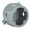 Cast Round Outlet Box -- VLJDX-2 - Image