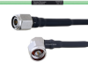 Temperature Conditioned Low Loss TNC Male to RA N Male Cable LL160 Coax in 18 Inch -- FMHR0209-18 -Image