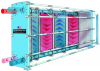 Superchanger® Plate and Frame Heat Exchanger -- UX-Series - Herringbone Low NTU