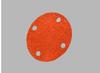 3M Cubitron 777F Coated Ceramic Quick Change Disc - 120 Grit - 2 in Diameter 4 Vacuum Holes - 28069 -- 051141-28069 - Image
