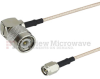 SMA Male to RA TNC Male Cable RG-316 Coax in 24 Inch -- FMC0246315-24 -Image