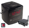 NIGHT OWL DIGITAL ALARM CLOCK WITH IP RECEIVER