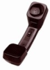 Clarity W6-KM-EM-80-RP-00 Walker Amplified Handset w/ Reverse Polarity - Black