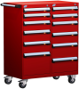 Mobile Compact Cabinet with Partitions -- L3BED-4001L3B -Image