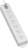 Power It! 6-Outlet Power Strip, 6-ft. Cord, Power Switch Cover -- TLM606NC