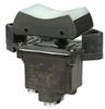 TP Series Rocker Switch, 2 pole, 3 position, Screw terminal, Flush Panel Mounting -- 2TP1-21 - Image