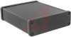 Enclosure; Extruded Aluminum; Plastic; 0.06 in.; Black Anodized -- 70166757
