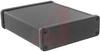 Enclosure; Extruded Aluminum; Plastic; 0.06 in.; Black Anodized -- 70166757