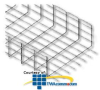 "Chatsworth Products Wire Mesh FastTrac Cable Tray 6"".. -- 13345"