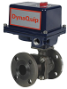 Electrically Actuated 2 PC Flanged Carbon Steel Ball Valve -- EHC FL Series - Image