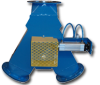 Rotary Valves: Feeding and Metering -- Gravity Diverter Valve, Y-style Series -- View Larger Image
