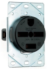 Straight Blade Power Receptacle -- 5740