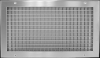 Double Deflection Supply Grille -- 250 Series - Image