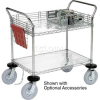 Chrome Wire Shelf Instrument Cart -- T9H188780 - Image