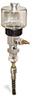 "(Formerly B1745-3X04), Manual Chain Lubricator, 5 oz Polycarbonate Reservoir, 1/4"" Round Brush Nylon -- B1745-005B1NR1W -- View Larger Image"