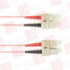 BLACK BOX CORP FOCMPSM-002M-SCSC-PK ( 2M (6.5FT) SCSC PK OS2 SM FIBER PATCH CABLE INDR ZIP OFNP ) - Image