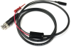 Male BNC Coaxial Test Cable RG58C/U to XM Micro-Hook and Mini Alligator Clip -- 1021XM -Image