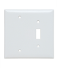 Combination Openings, 1 Toggle Switch & 1 Blank -- SPJ113W - Image