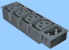 Four Position Accessory Power Module + Inlet -- 83021250