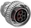 Conn;Plug;5 Skt Cnt;Thermopl Insert;14 Shell Sz;Zinc Alloy;Free Hanging -- 70082992