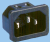 IEC 60320 C14 Snap-in Power Inlet -- 83012400