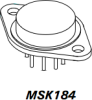 High Voltage/High Current Op-Amp -- MSK184