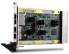 3U CompactPCI® 2/4-Port Gigabit Ethernet Card -- cPCI-3E10/3E12 - Image