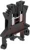 UK 1.5 N Black IEC Screw Clamp TerminalBlock - 30-14 AWG -- 70169322