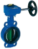 Butterfly Valves with Gearboxs -- VFY-LG/WG -- View Larger Image
