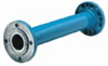 PVC static mixer without injection port; 2