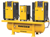 Rotary Screw Compressor Package with Variable Frequency Drive -- AIRCENTER SFC Series -Image