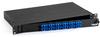 Rackmount Fiber Panel, 1U, Loaded with (24) Single-Mode/Multimode Connectors, SC, 12 Duplex Pairs -- JPM375A-R2