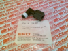 FITTING INLET 1/8MPT-1/4COMP ELBOW BLACK POLYPROP -- 7543BP - Image
