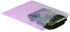 Pink Anti-Static Flat Poly Bag - 15 in x 6 in - 6 mil thick - SHP-10522 -- SHP-10522