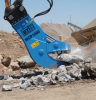 Hydraulic Pulverizer Demolition Attachment -- MCP Series