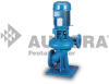Series 300 - Single Stage End Suction Vertical Close Pump -- Model 342A -- View Larger Image