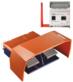 Wireless Safety Foot Switch -- RF GFS 2 SW2.4-safe -Image
