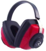 RADIANS Competitor with red ear cups -- Model# CP0300CS