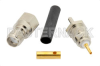 SMA Female Connector Solder Attachment For RG178, RG196 -- PE4592 -Image