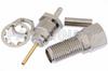 SMA Female Bulkhead Mount Connector Crimp/Solder Attachment for RG178, RG196, .235 inch D Hole -- PE4422 -Image
