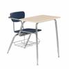 3400 Solid Plastic Combo Desk -- 3400ComboDesk