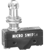 BZ Series Standard Basic Switch, Double Break Circuitry, 15 A at 250 Vac, High Overtravel Plunger Actuator, Screw Termination, Silver Contacts, UL, CSA, ENEC -- BZ-2AQ18T1 - Image