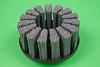Abtex Hex-Drive™ Brushes, Silicon Carbide Filament – V Tuft 1-1/2