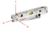 BOSCH 3 Point Torpedo Alignment Laser Level -- Model# GPL3T