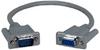 QVS 1ft VGA HD15 Male to Female PortSaver Cable -- CC320NU-01 - Image