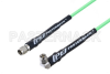 SMA Male to SMA Male Right Angle Low Loss Cable 48 Inch Length Using PE-P160LL Coax -- PE3C5246-48 -Image