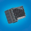 Backplane Connectors, 1.85 mm (0.073 in.), Orientation=Right Angle -- 10091799-101LF - Image