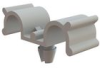 Cable Clamps - Dual Half U, Snap In -- DHURC-2-01 -- View Larger Image
