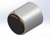Non-Comm DC Voice Coil Linear Actuator -- NCC05-100-5850-3X